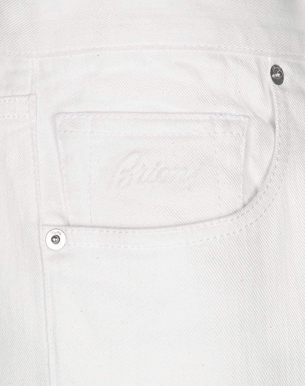BRIONI White Denim   Trousers [*** pickupInStoreShippingNotGuaranteed_info ***] e