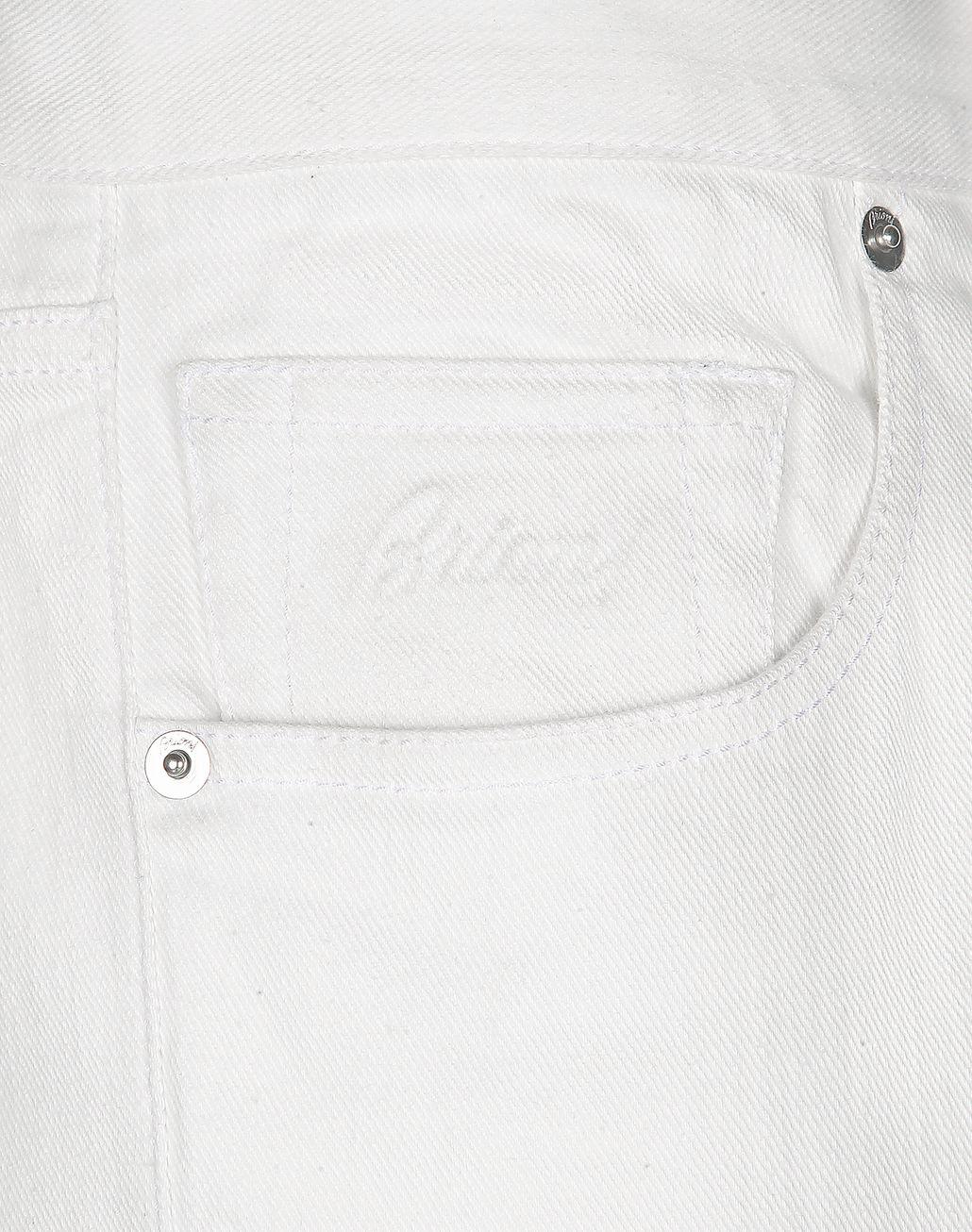 BRIONI White Denim   Trousers Man e