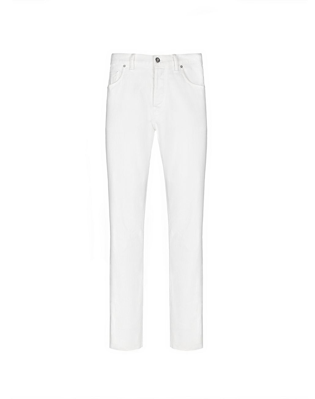 BRIONI White Denim   Trousers Man f