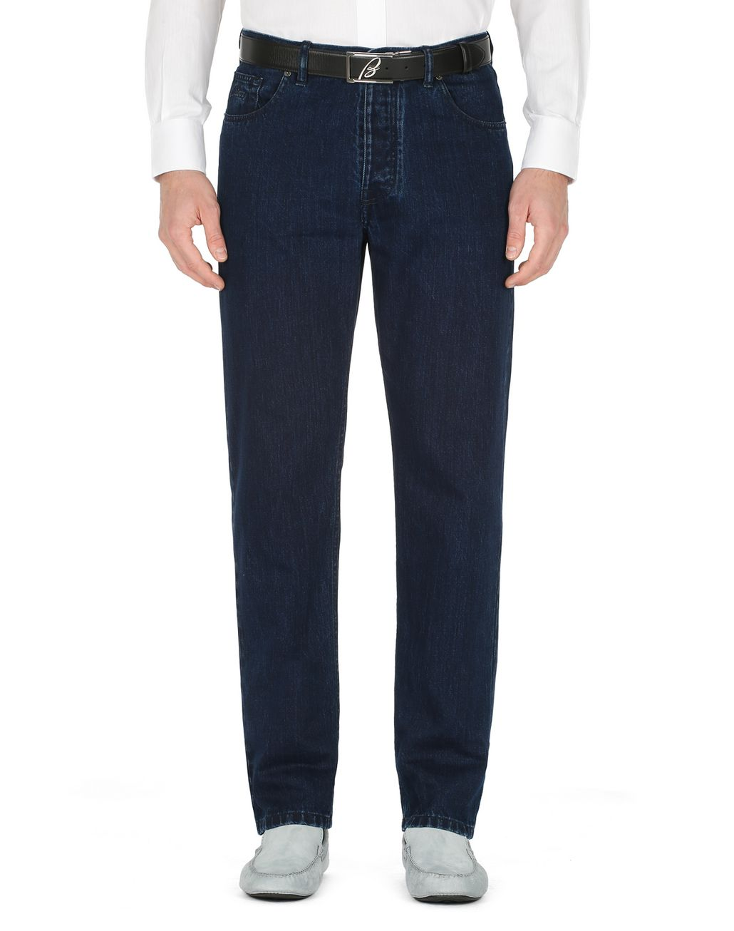 BRIONI Dark Blue Corvara Jeans Denim [*** pickupInStoreShippingNotGuaranteed_info ***] r