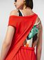 Marni Dress in crepe jersey with printed under top Woman - 5