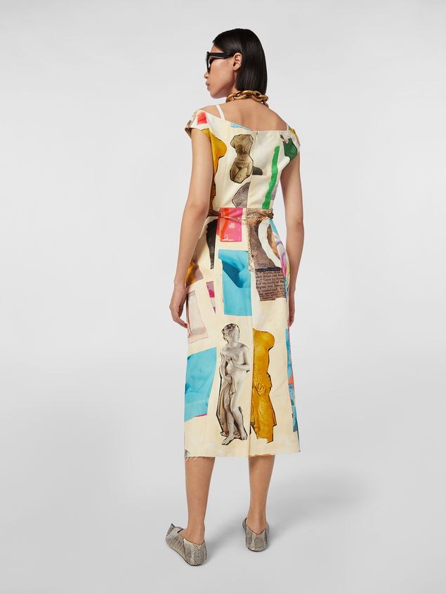 Marni Dress in cotton Venere print Woman