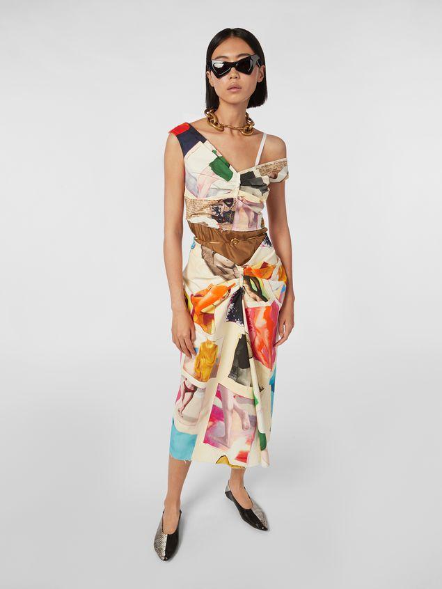 Marni Dress in cotton Venere print Woman - 1