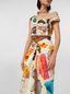 Marni Dress in cotton Venere print Woman - 5