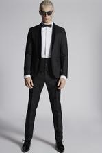 DSQUARED2 Silk Wool Tokyo Suit Suit Man