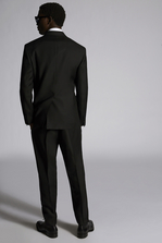 DSQUARED2 Silk Wool 80's D.B. Suit Suit Man