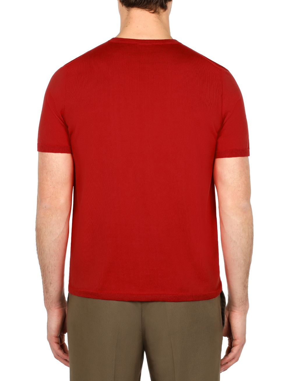 BRIONI Red Logoed T-Shirt T-Shirts & Polos [*** pickupInStoreShippingNotGuaranteed_info ***] d