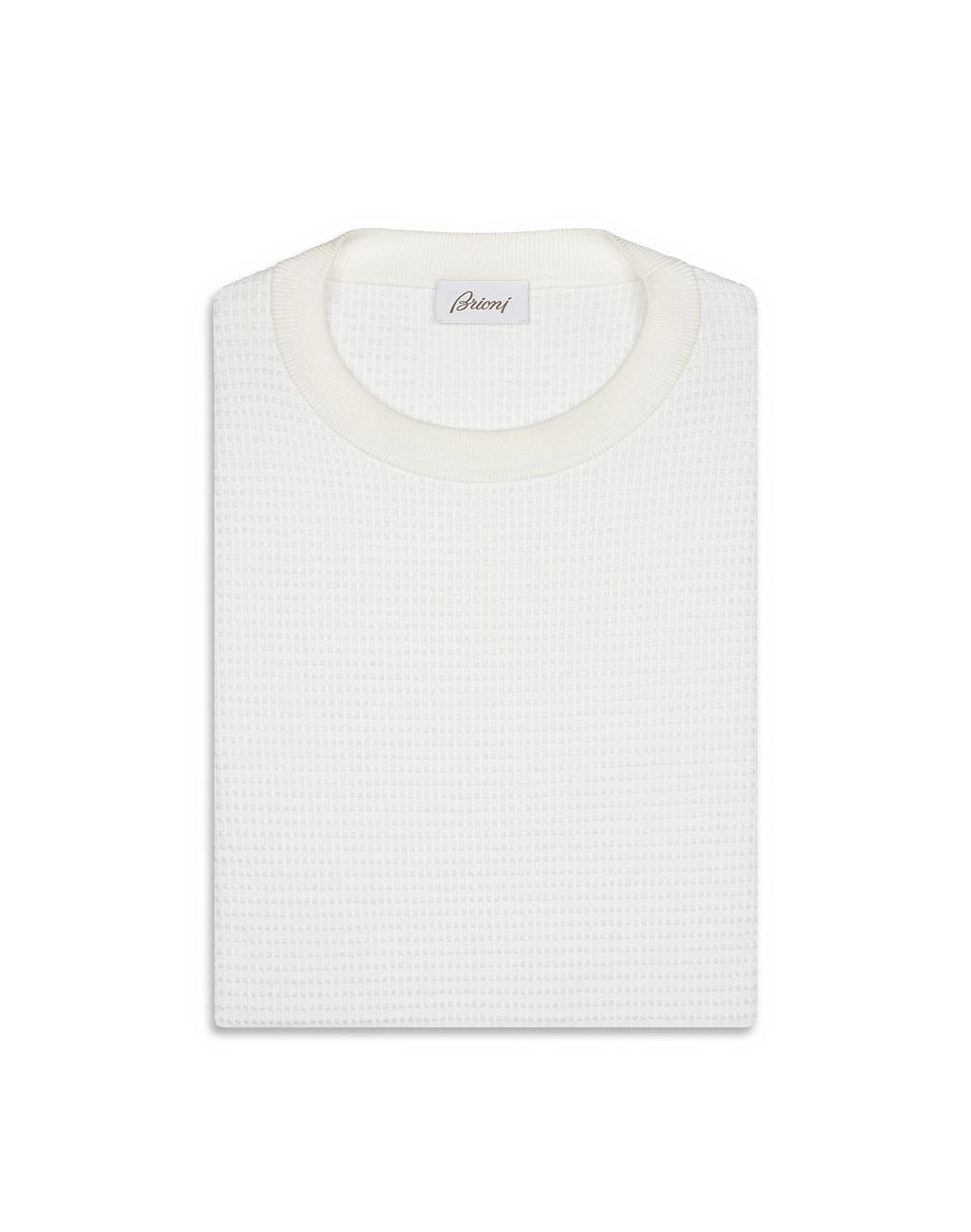 BRIONI White Crew Neck Sweater Knitwear [*** pickupInStoreShippingNotGuaranteed_info ***] e