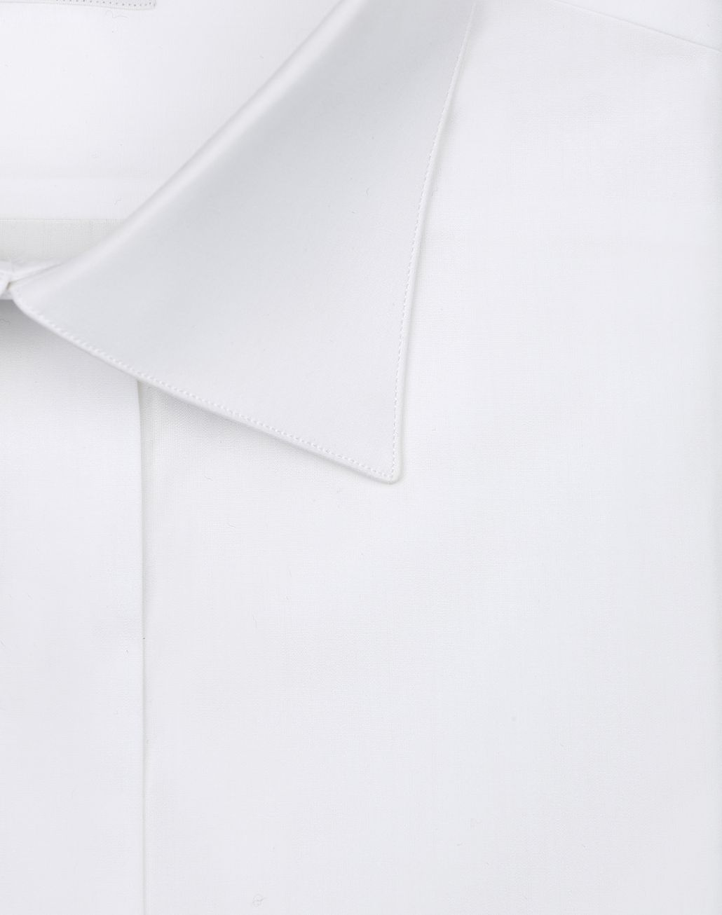 BRIONI White Evening Shirt Formal shirt Man e