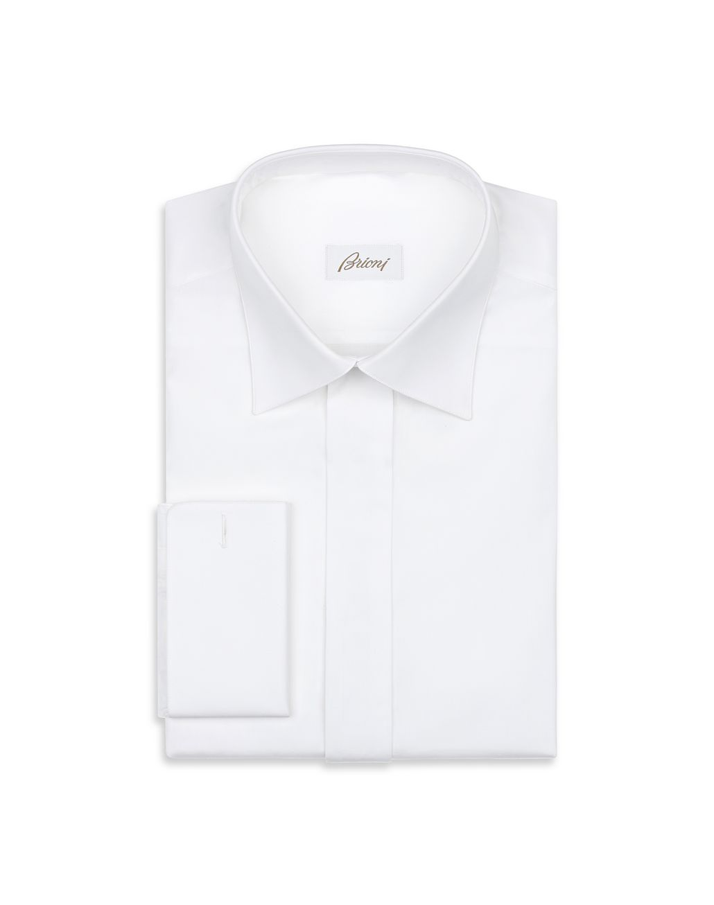 BRIONI White Evening Shirt Formal shirt [*** pickupInStoreShippingNotGuaranteed_info ***] f