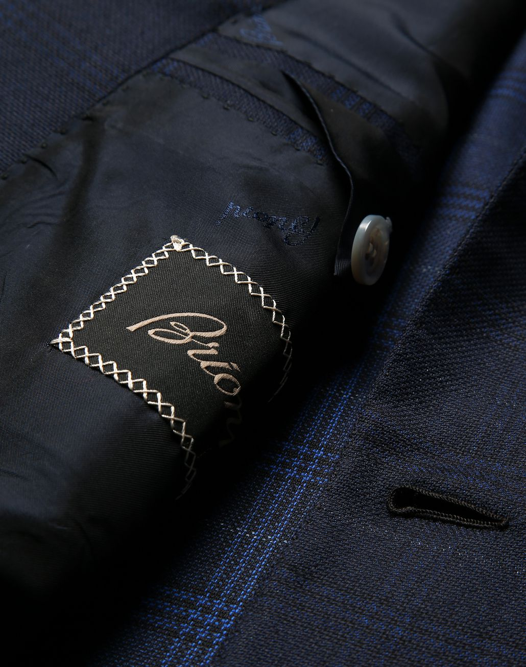BRIONI Navy Blue Ravello Jacket Jackets Man b