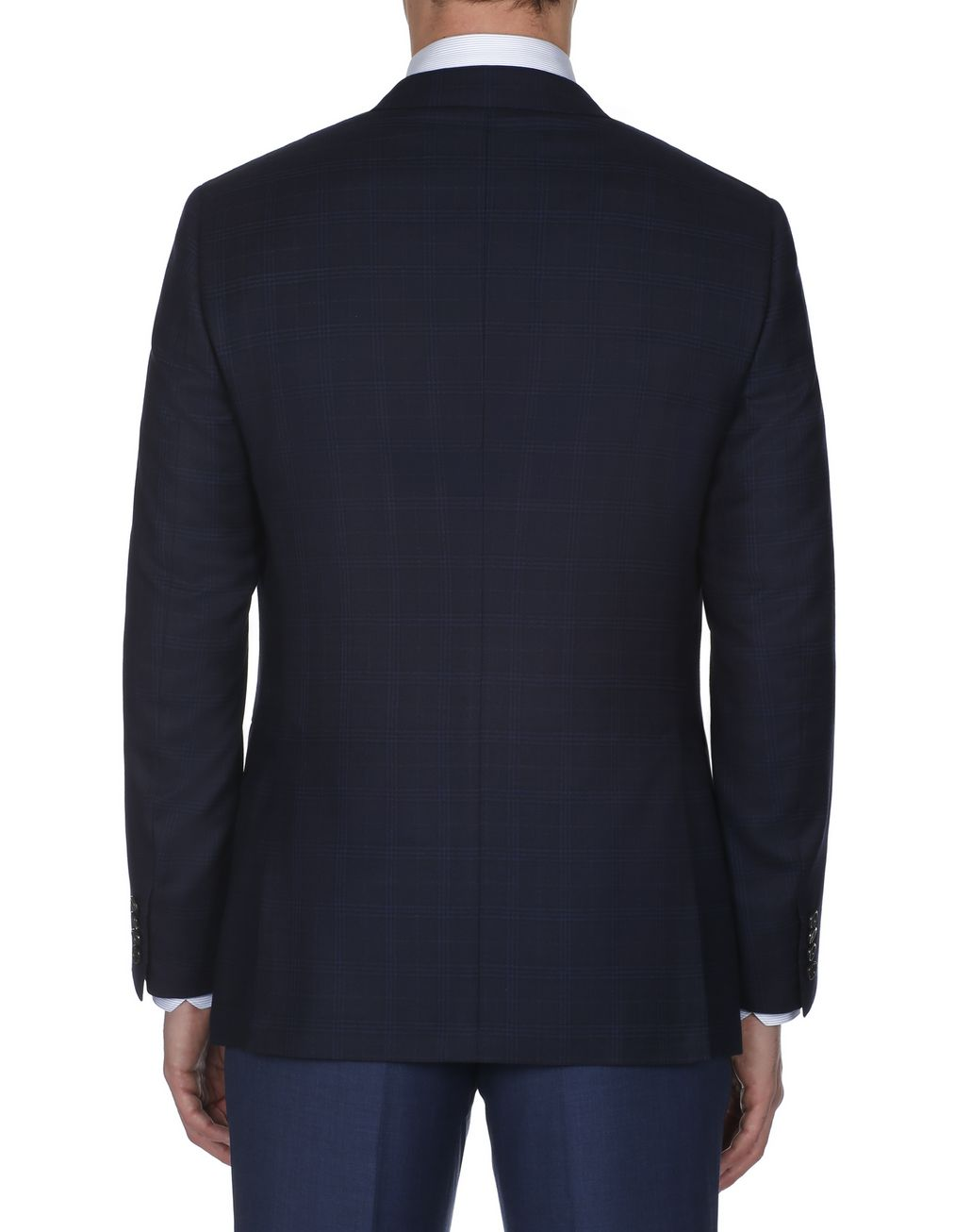 BRIONI Navy Blue Ravello Jacket Jackets Man d