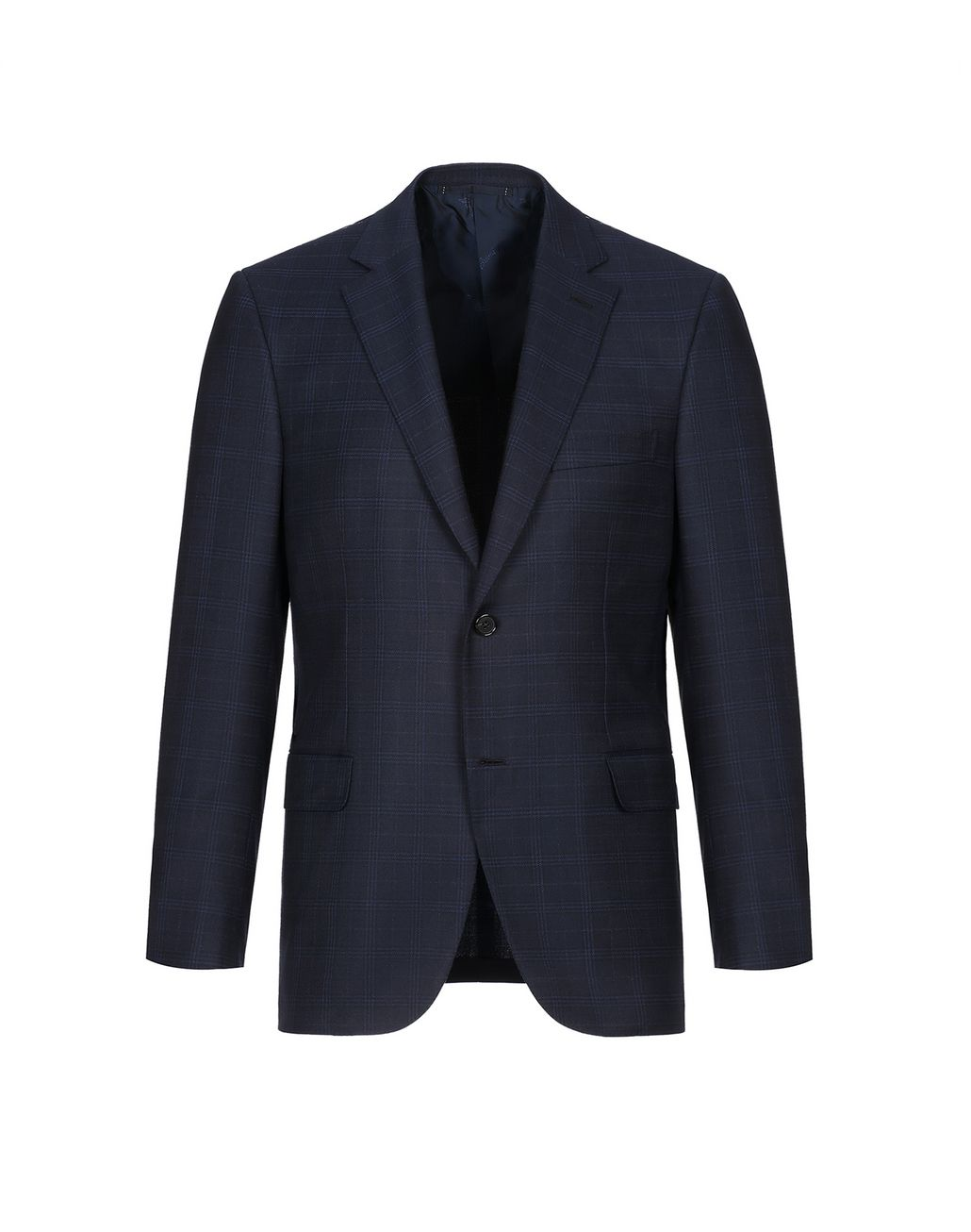 BRIONI Navy Blue Ravello Jacket Jackets Man f