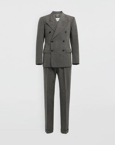 MAISON MARGIELA マイクロファンタジー チェック フォーマル ジャケット&パンツ メンズスーツ メンズ f