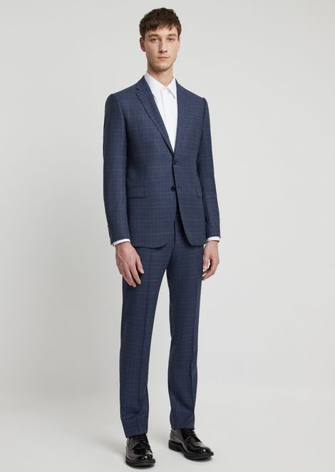 a0df28f8a519 Modern fit suit in virgil wool