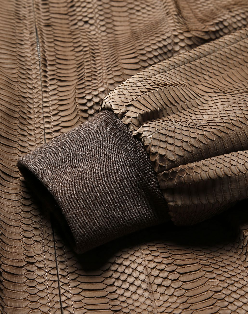 BRIONI Snake Leather Blouson Outerwear [*** pickupInStoreShippingNotGuaranteed_info ***] a