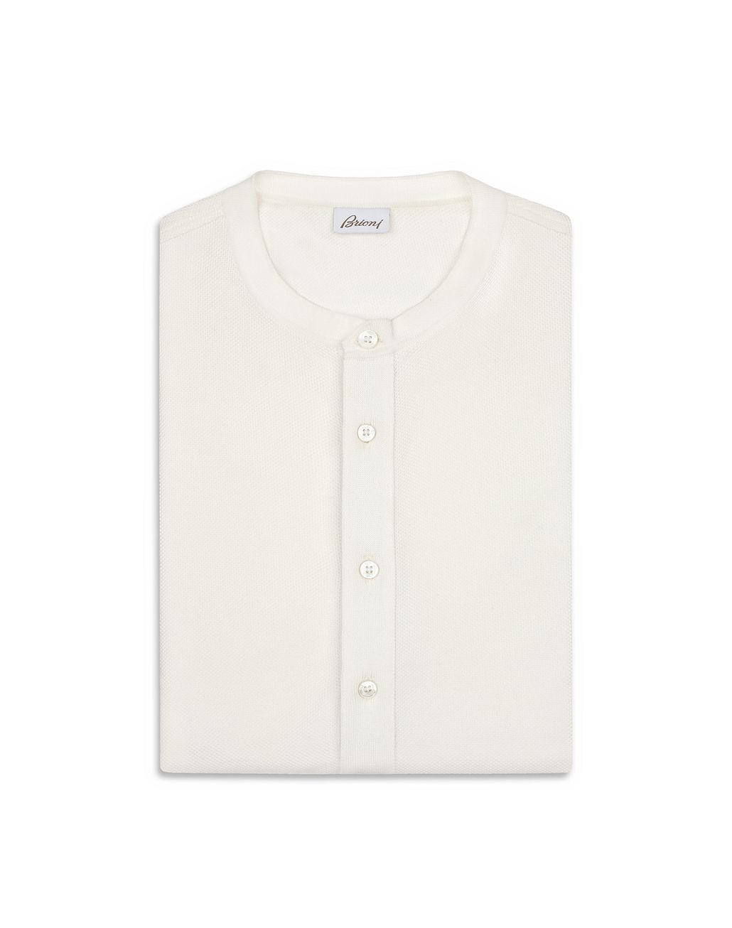 BRIONI White Honeycomb T-Shirt T-Shirts & Polos [*** pickupInStoreShippingNotGuaranteed_info ***] e