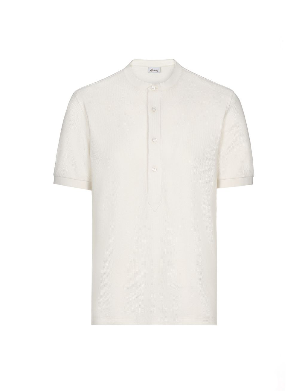 BRIONI White Honeycomb T-Shirt T-Shirts & Polos [*** pickupInStoreShippingNotGuaranteed_info ***] f