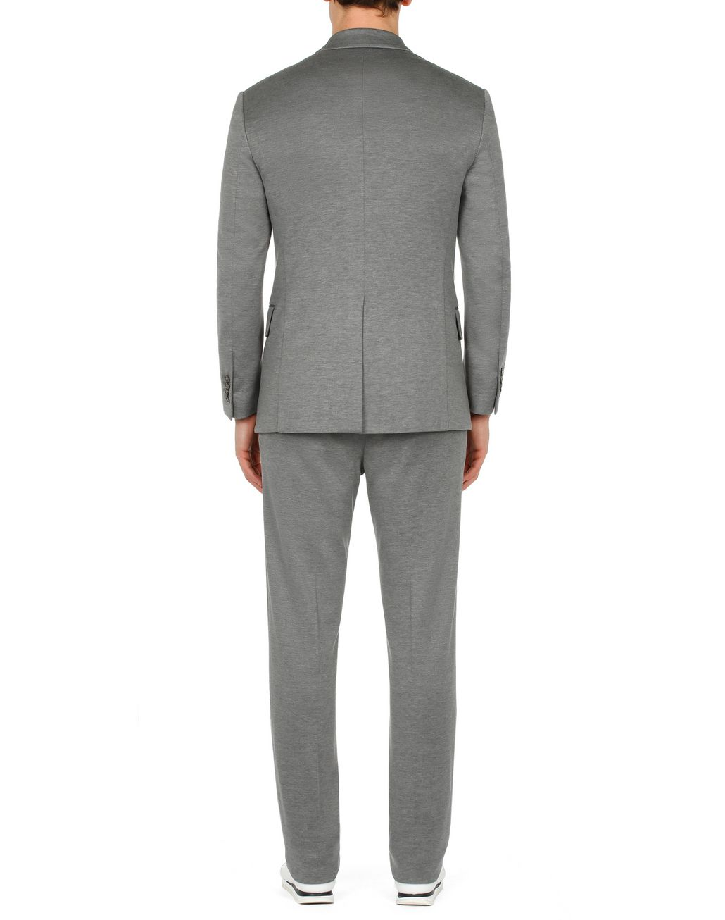 BRIONI Grey Jersey Jacket Jackets Man d