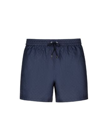 Navy Blue Logo Short Swims Short