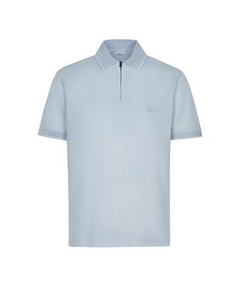 Light Blue Piquet Polo Shirt