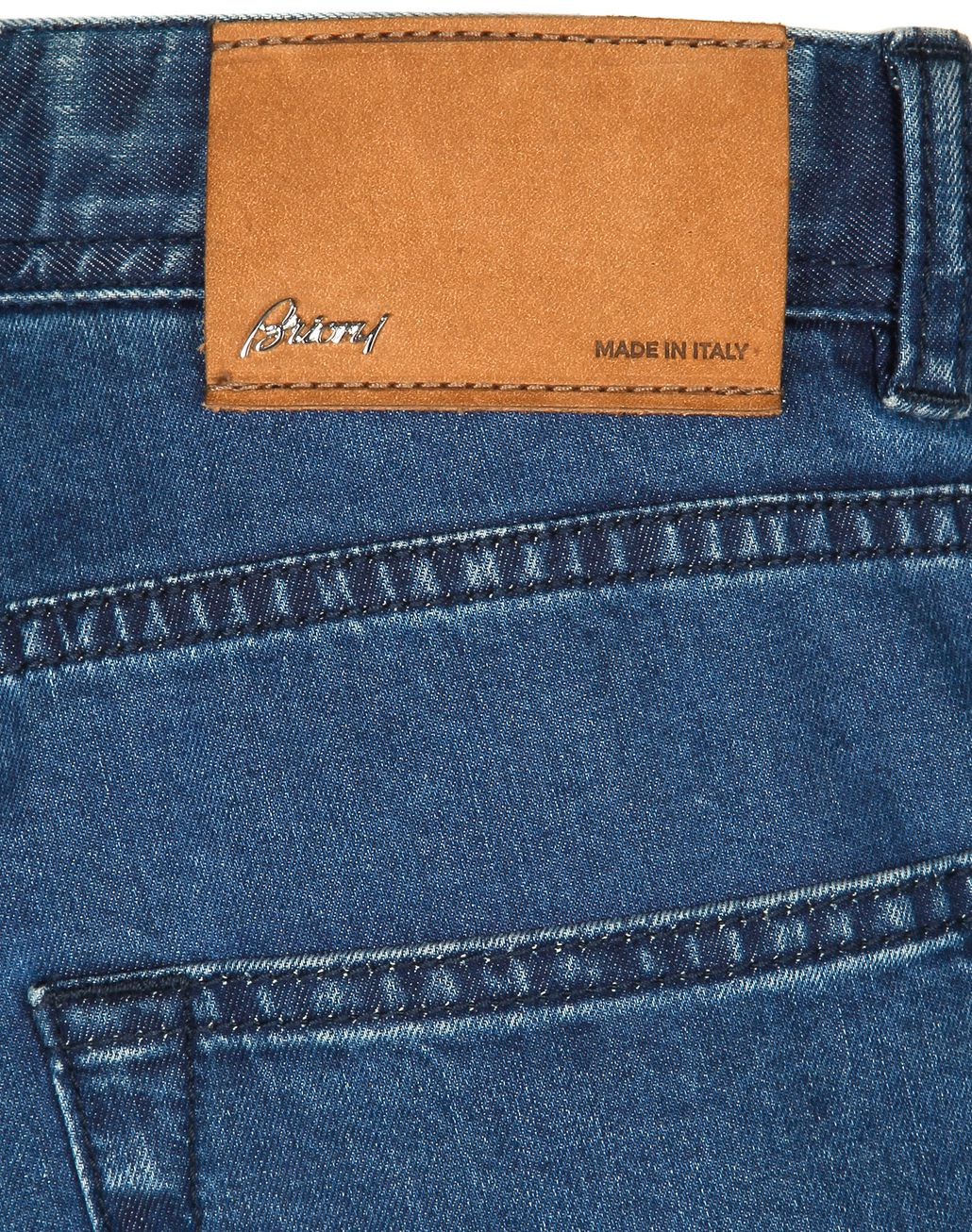 BRIONI Blue Meribel Jeans Trousers Man a