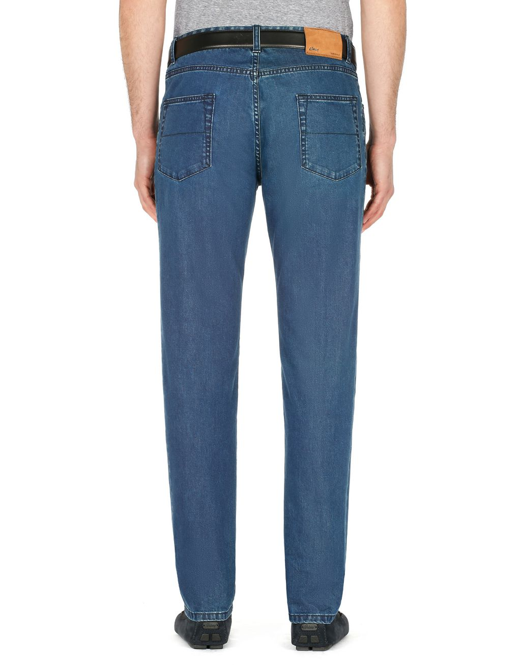 BRIONI Blue Meribel Jeans Trousers Man d