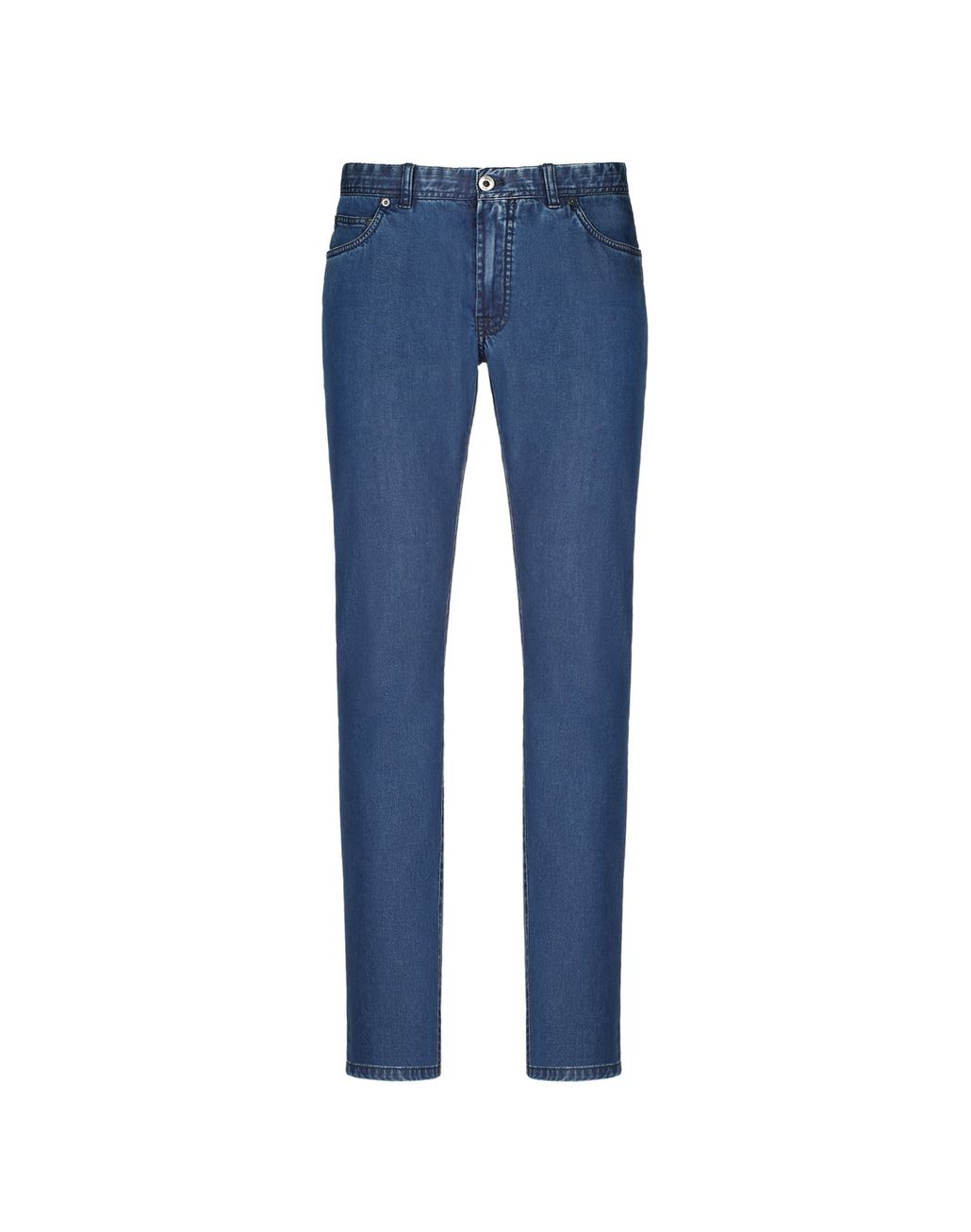 BRIONI Blue Meribel Jeans Trousers Man f
