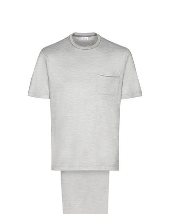 Light Grey silk Pajamas