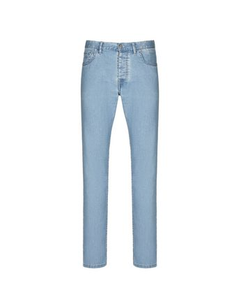 Light Blue Denim Trousers