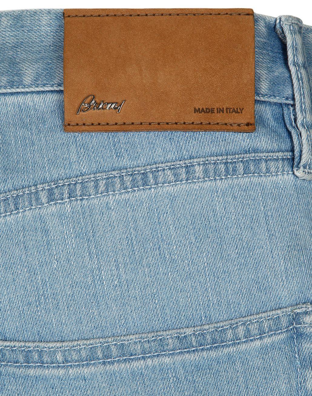 BRIONI Light Blue Denim Trousers Trousers Man a