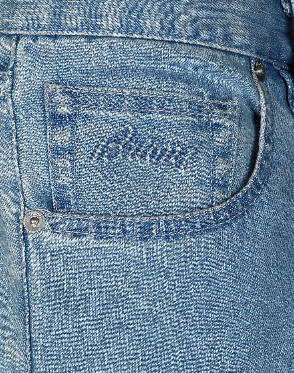 BRIONI Light Blue Denim Trousers Trousers Man e