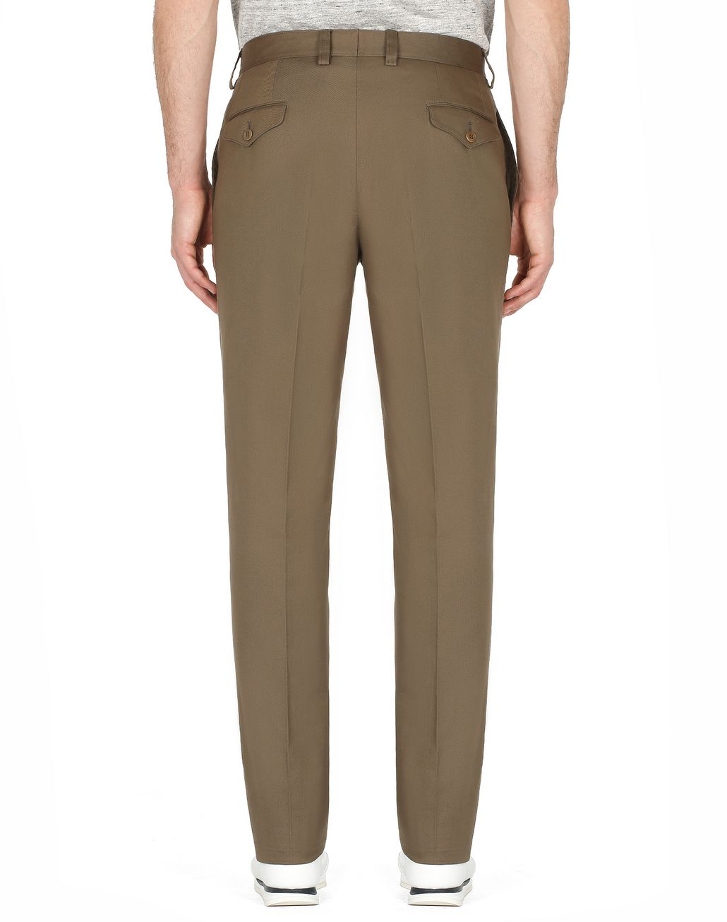 BRIONI Green Trousers Trousers Man d