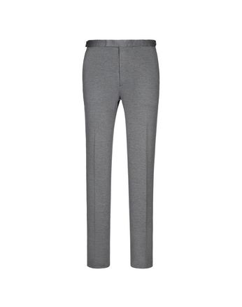 Grey Jersey Trousers