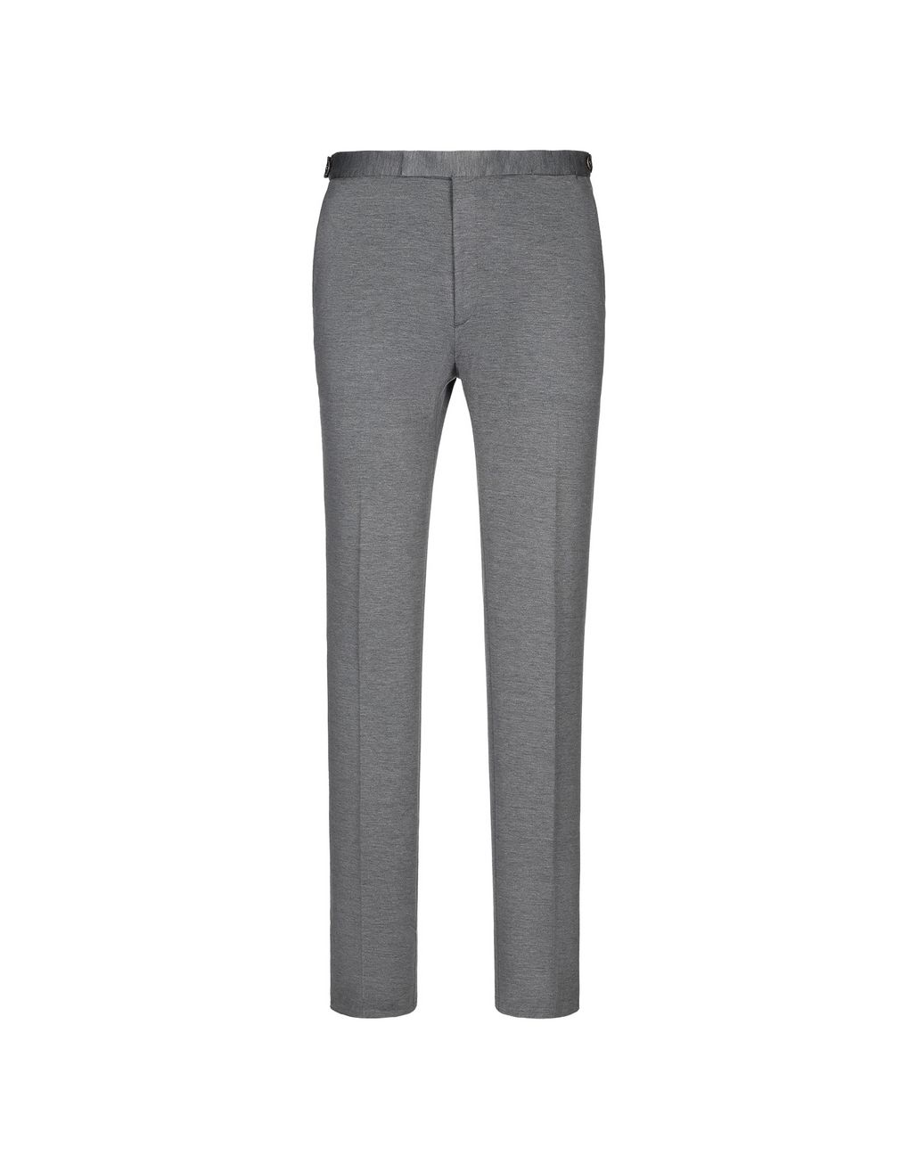 BRIONI Grey Jersey Trousers Trousers Man f