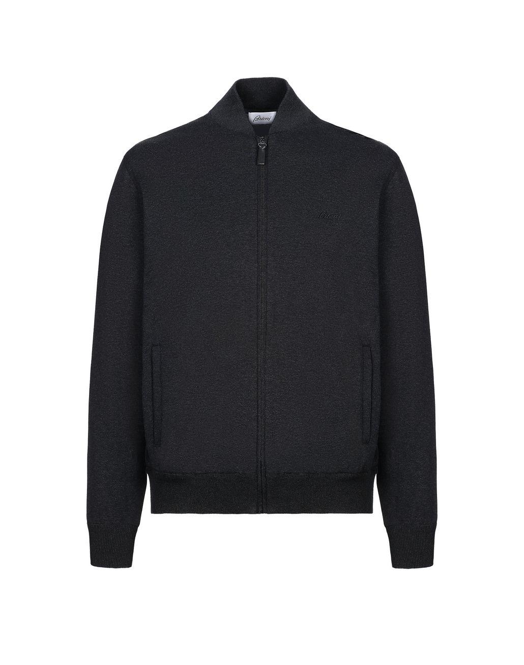 BRIONI Grey Sweatshirt Knitwear [*** pickupInStoreShippingNotGuaranteed_info ***] f