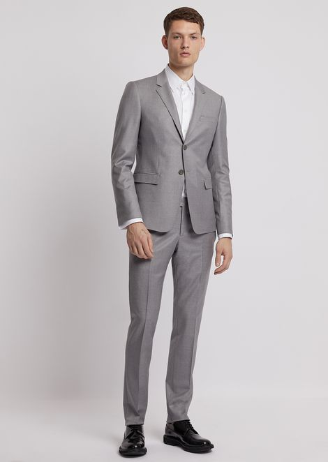 Single-breasted suit in Supreme 150s wool