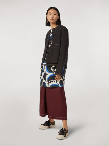 Marni Cotton dress Teardrop print Woman f