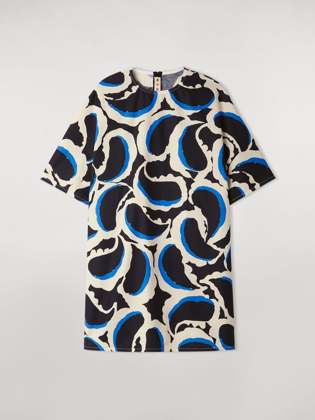 Marni Cotton dress Teardrop print Woman - 2