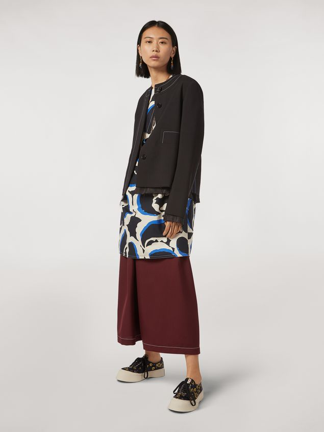 Marni Cotton dress Teardrop print Woman - 1