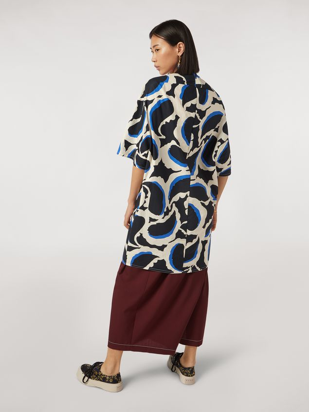 Marni Cotton dress Teardrop print Woman - 3