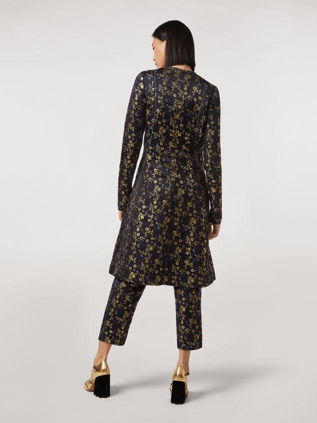 Marni Floral jacquard crewneck dress Woman