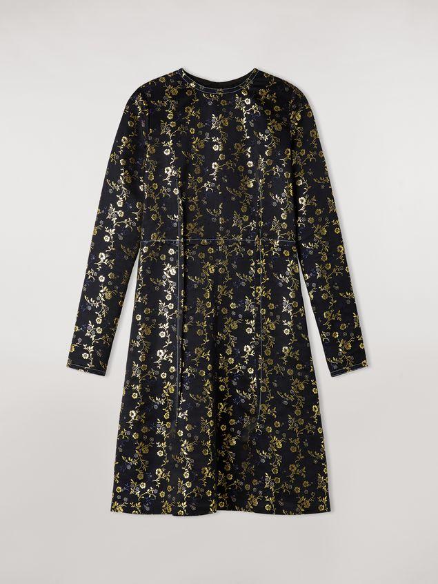 Marni Floral jacquard crewneck dress Woman - 2