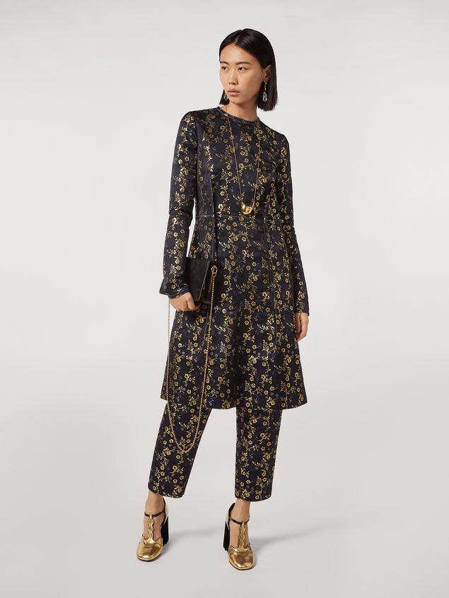 Marni Floral jacquard crewneck dress Woman - 1