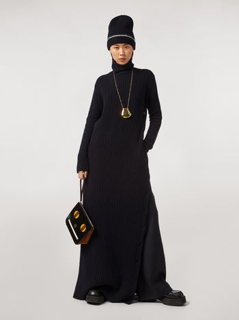 Marni Virgin wool dress with side buttons Woman