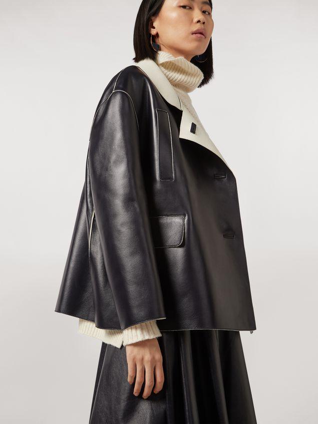 Marni Jacket in nappa stone lambskin Woman - 5