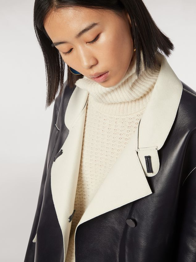 Marni Jacket in nappa stone lambskin Woman - 4