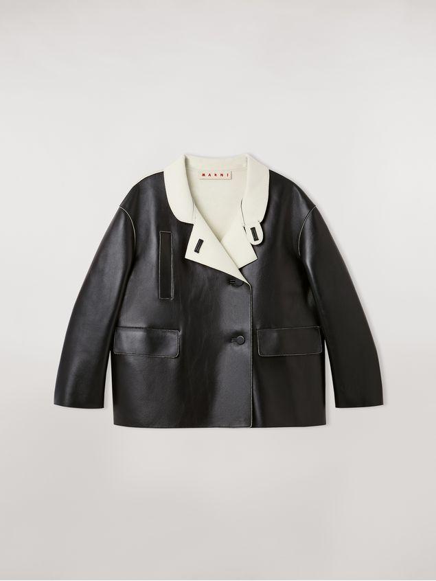 Marni Jacket in nappa stone lambskin Woman - 2