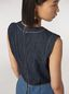 Marni Tunic in indigo denim drill Woman - 5