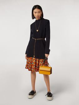 Marni Tunic in virgin wool with side buttons Woman